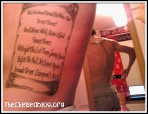 Liverpool Fernando Torres tattoo