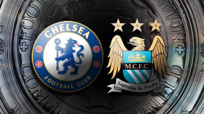 Image result for Chelsea v Manchester City community shield\